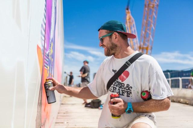 Graffiti artist Rebus