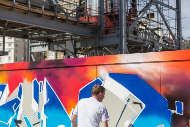 Graffiti Artist Rench