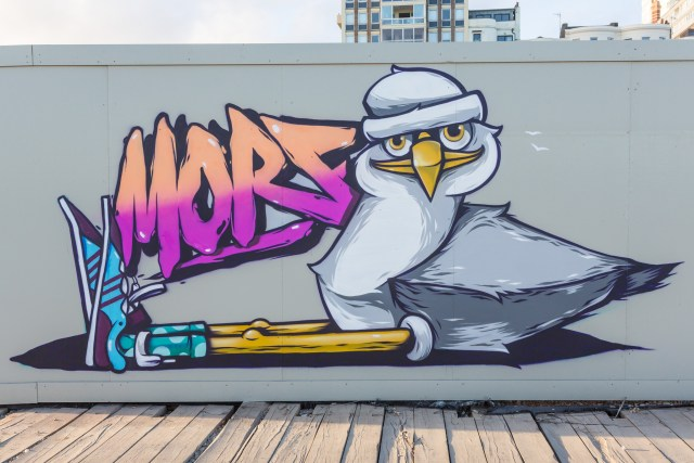 Morf's graffiti