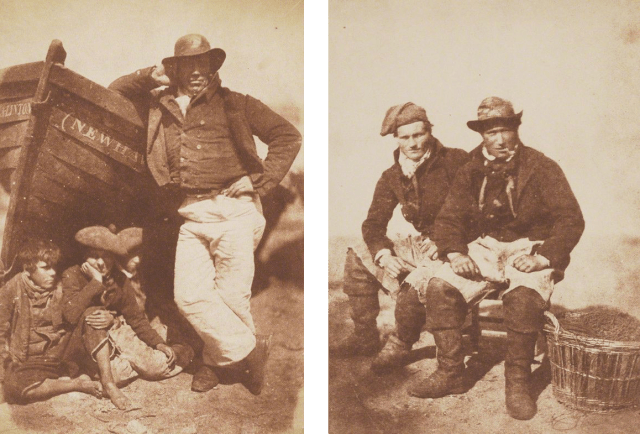 Newhaven fishingmen portraits 1840s by David Octavius Hill and Robert Adamson