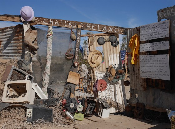 Chateau Relaxo in Slab City, CA.