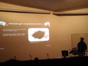 Student talks at the Institute of Zoology Student Conference. Image Copyright @ZSLScience.