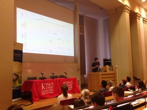 The two-day conference showcased presentations and posters by students from the London NERC DTP and the Imperial SSCP DTP. Image by Claire Asher.