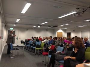 Cohort 3 hear talks from our associate partners
