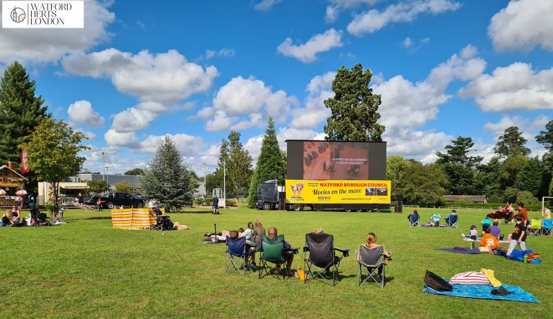 Watford Borough Council's free outdoor cinema the Big Screen returns for the summer from 18th August.