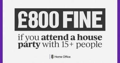 Lockdown: New £800 fine for those who attend parties announced