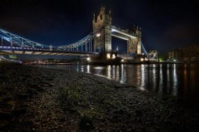 Tower Bridge view from Beach