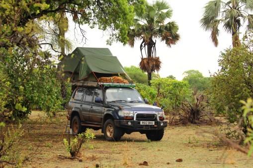 Katavi Camp on Ikuu River