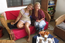 Tea with Reed and Lesanne