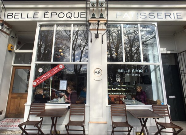 Stoke Newington, bakery Belle Epoque, London