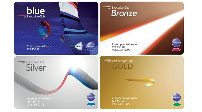 British Airways Executive Club Cards