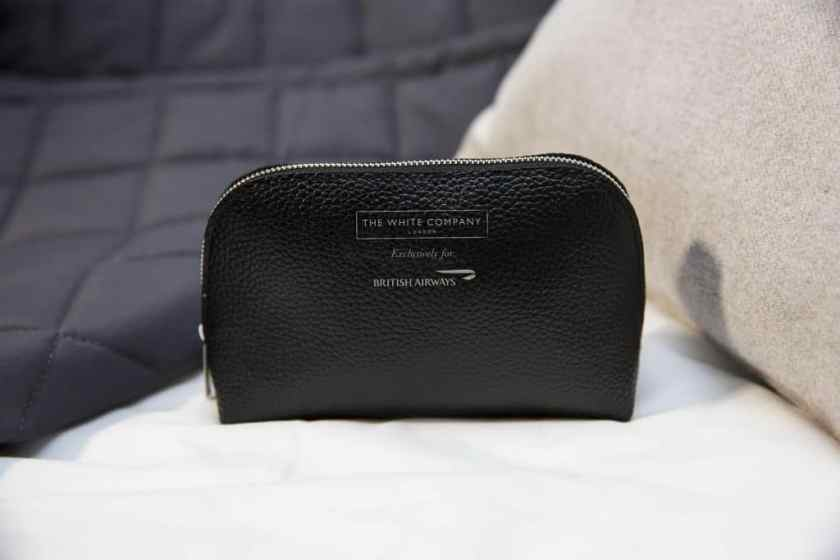 New British Airways Club World Amenity Kit from The White Company