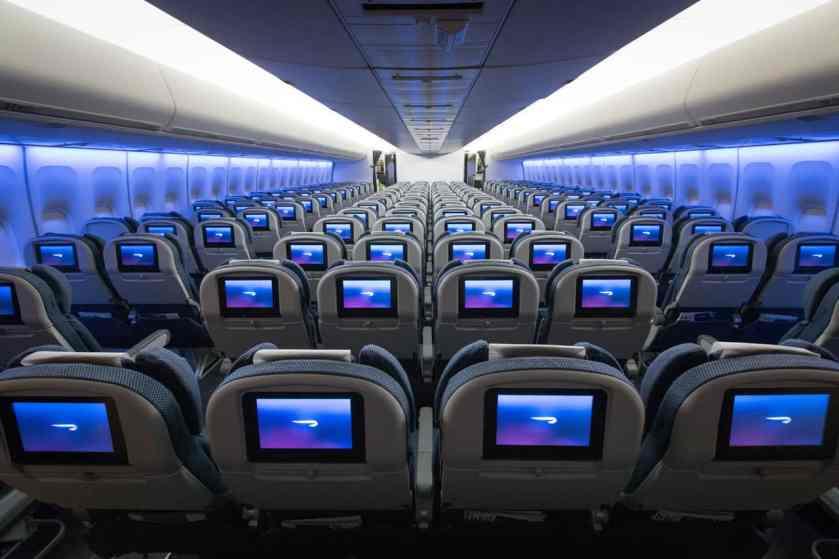 BA In Flight Entertainment - Boeing 747 World Traveller