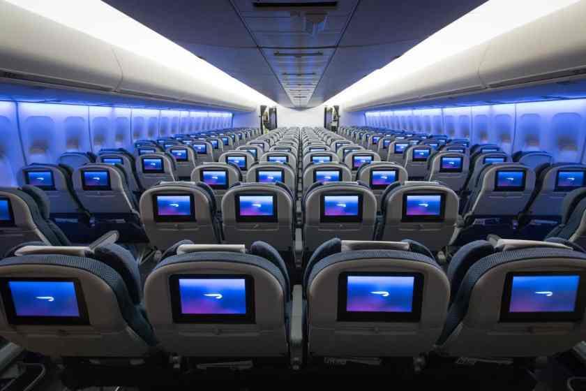 BA In Flight Entertainment - Boeing 747 World Traveller