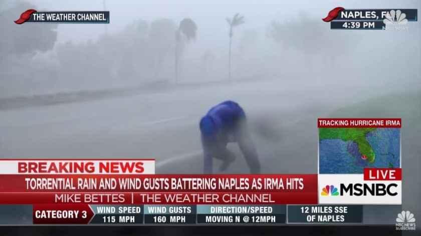 Hurricane Irma - Naples (Credit: MSNBC)