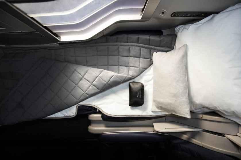 BA Club World Bedding & Amenity Kit (Image Credit: British Airways)