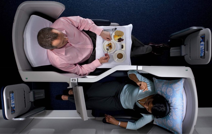 BA Club World Cabin - 2006 (Image Credit: British Airways)