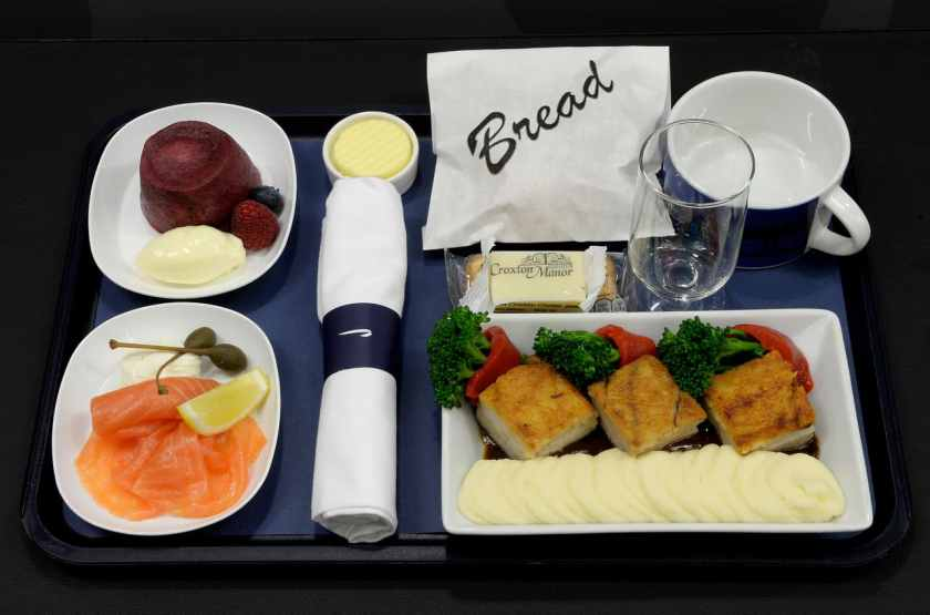 "BA World Traveller Paid For ""Gourmet"" Meals"