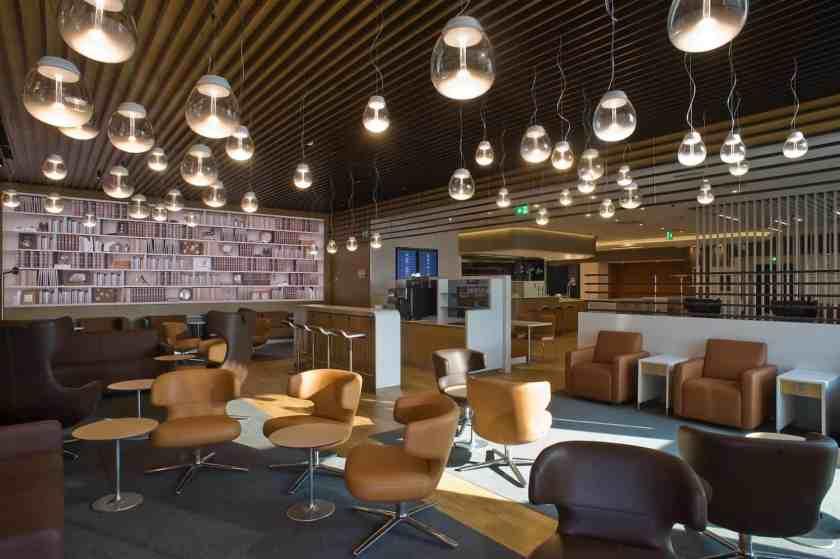 Lufthansa Lounge Milan Malpensa Airport