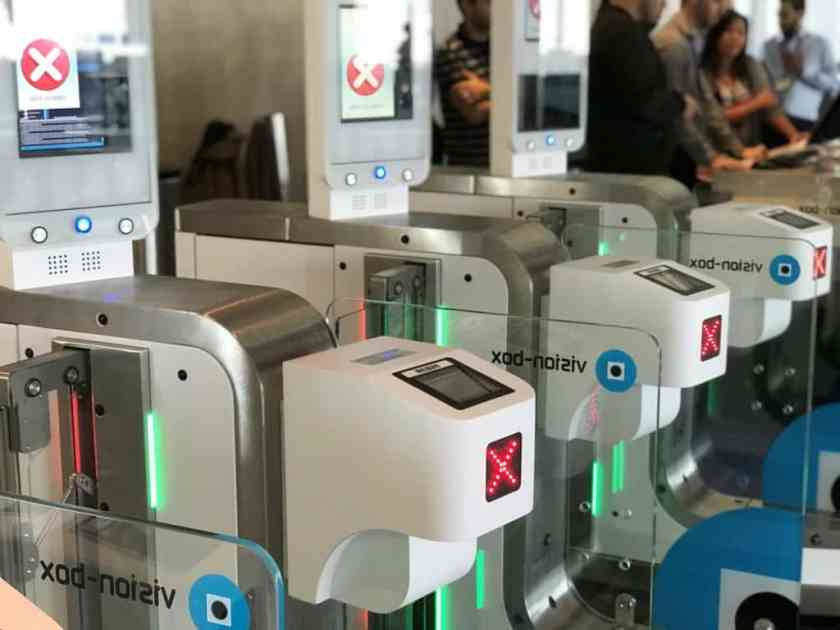 Biometric Boarding Gates Los Angeles (Image Credit: British Airways)