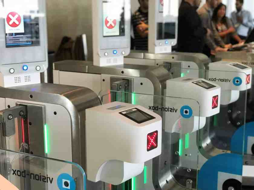 Biometric Boarding Gates Los Angeles (Image Credit: British Airways)