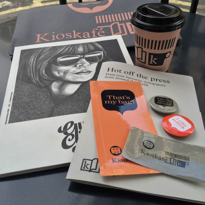 A selection of purchases from Kioskafe, Paddington, London (Image Credit: London Air Travel)