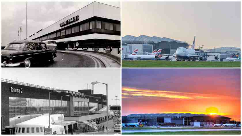 London Heathrow Collage