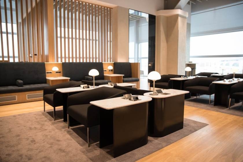 British Airways Lounge, Rome Fiumicino Airport (Image Credit: British Airways)