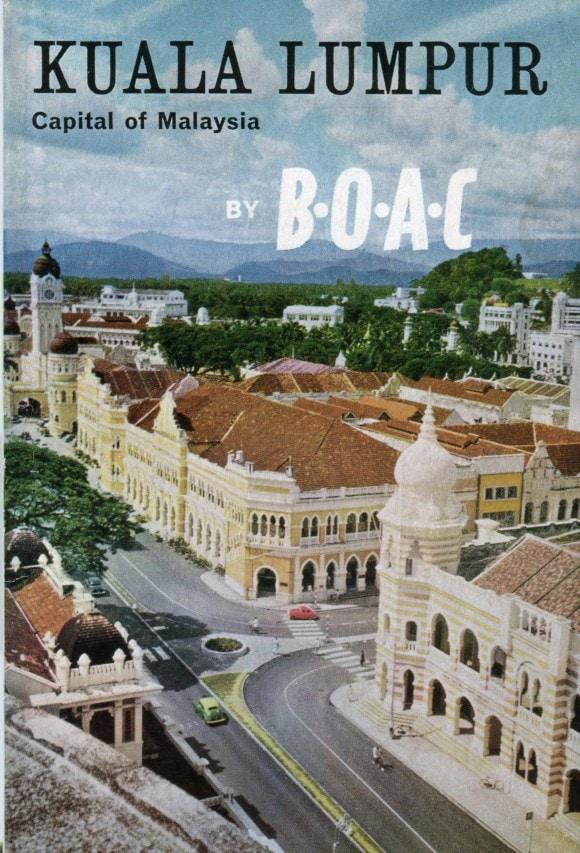 Kuala Lumpur by BOAC (Image Credit: British Airways)