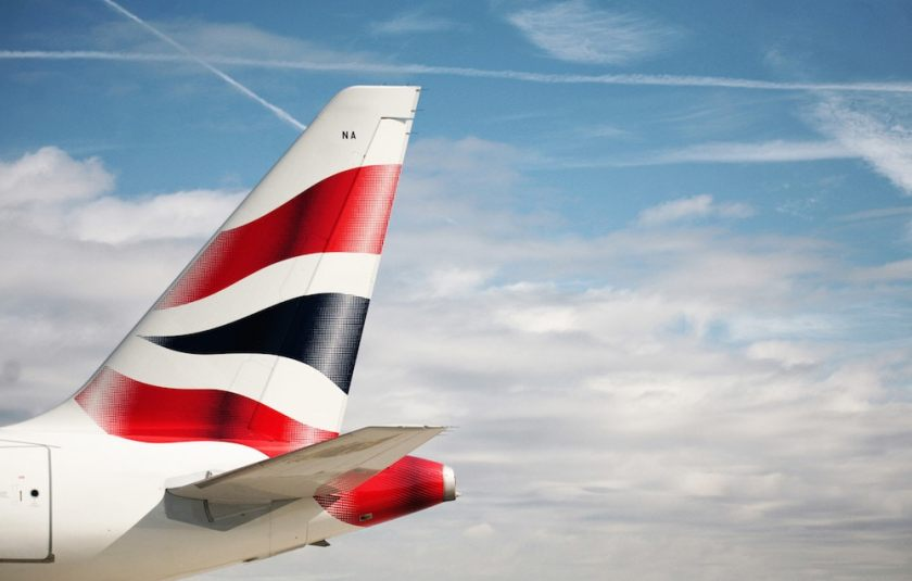 British Airways Tailfin, Airbus 318 G-EUNA (Image Credit Nick Morrish/British Airways)