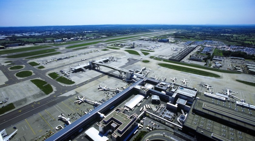 London Gatwick Airfield (Image Credit: London Gatwick Airport)