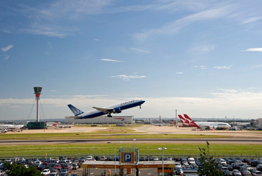 United Airlines at London Heathrow