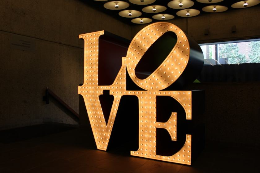"Robert Indiana ""LOVE"", Whitney Museum of American Art, New York, 2013"