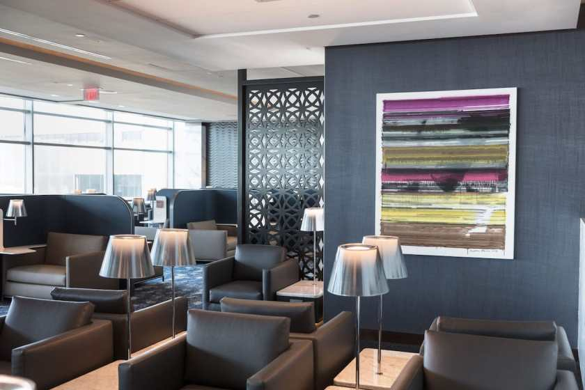 United Polaris Lounge Seating Newark Liberty International Airport (Image Credit: United Airlines)