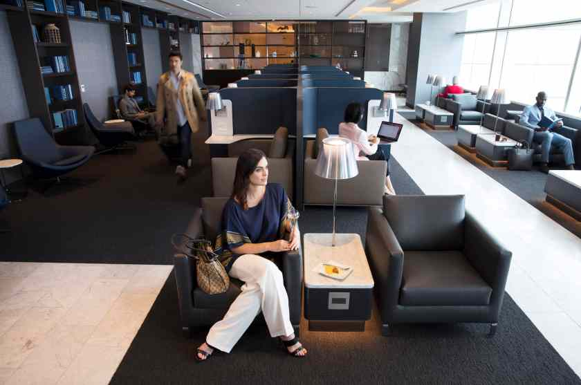 United Polaris Lounge San Francisco International Airport (Image Credit: United Airlines)