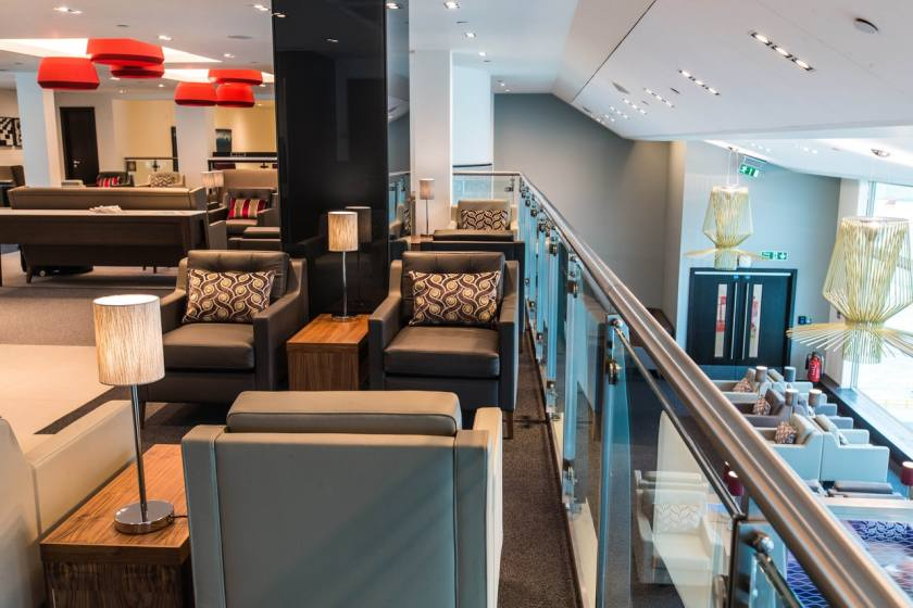 British Airways Lounge, South Terminal, London Gatwick (Image Credit: British Airways)