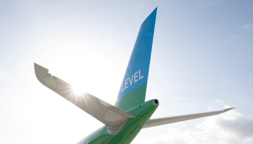 LEVEL Tail Fin (Image Credit: International Airlines Group)
