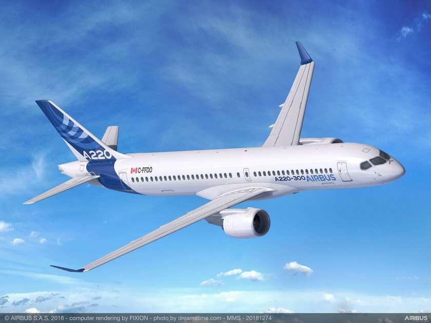 Airbus A220-300 Aircraft (Image Credit: Airbus)
