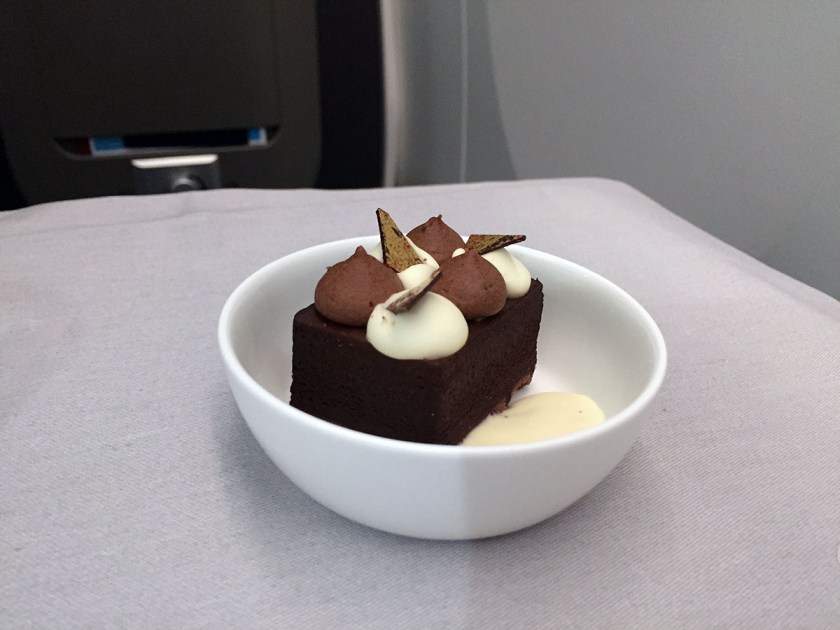 BA Club World Dessert BA95 London Heathrow - Montreal June 2018