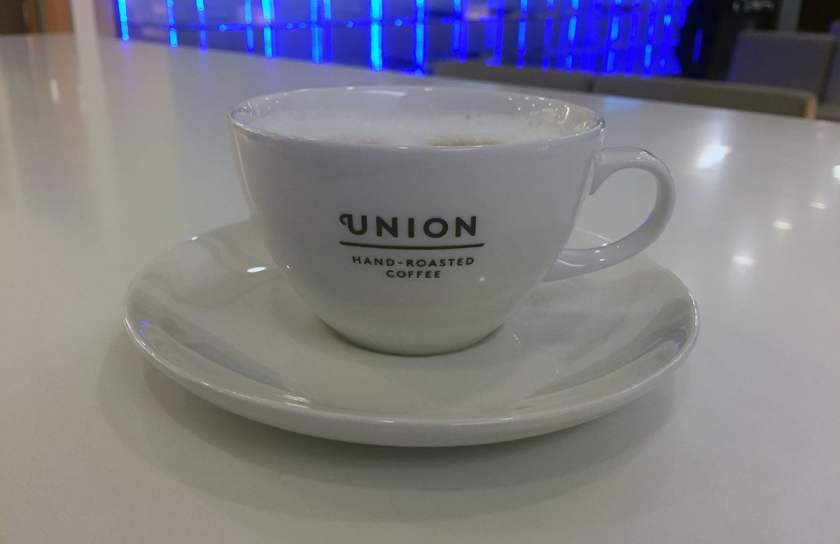 Union Hand-Roasted Coffee - BA Lounge Heathrow