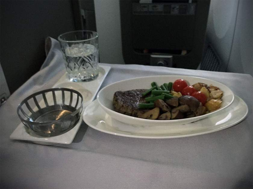 BA Club World Main Course August 2018