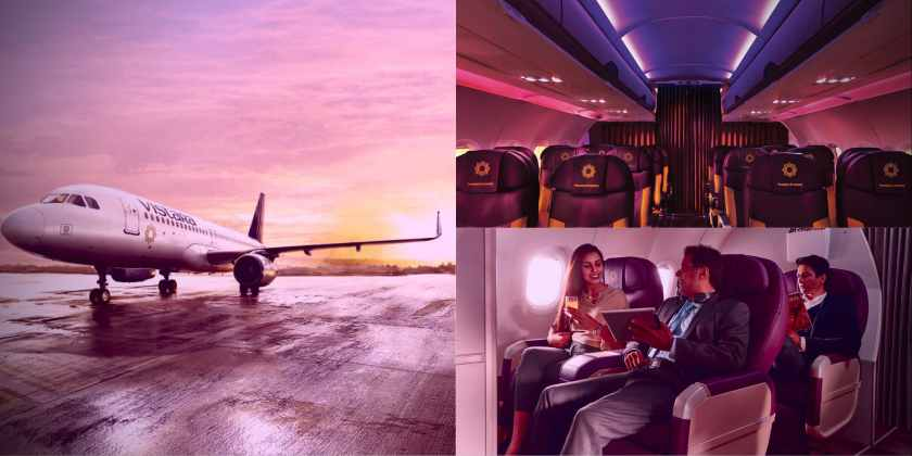 Vistara Aircraft and Premium Cabins