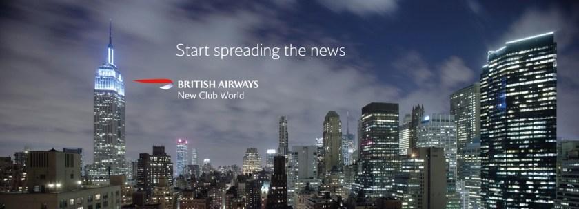 British Airways New Club World Advertisement circa 2006.