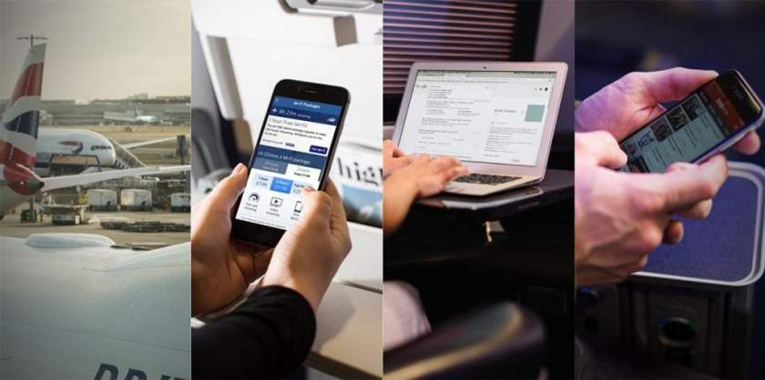 British Airways WiFi