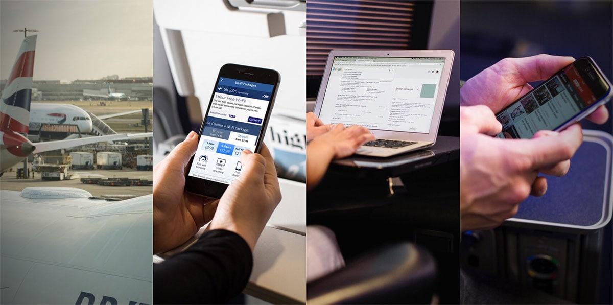 British Airways WiFi Installation Progress – London Air Travel