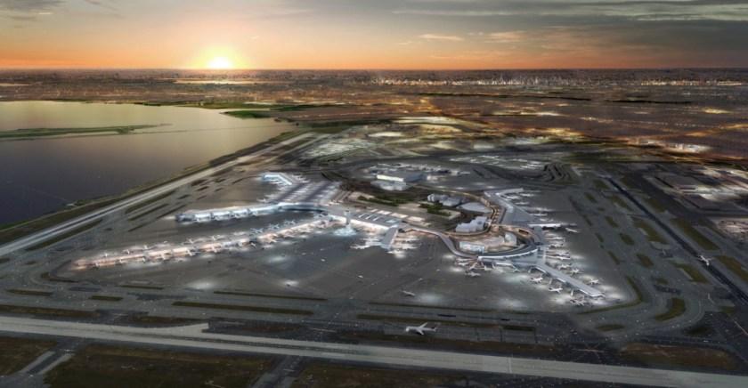 CGI Image of redeveloped New York JFK
