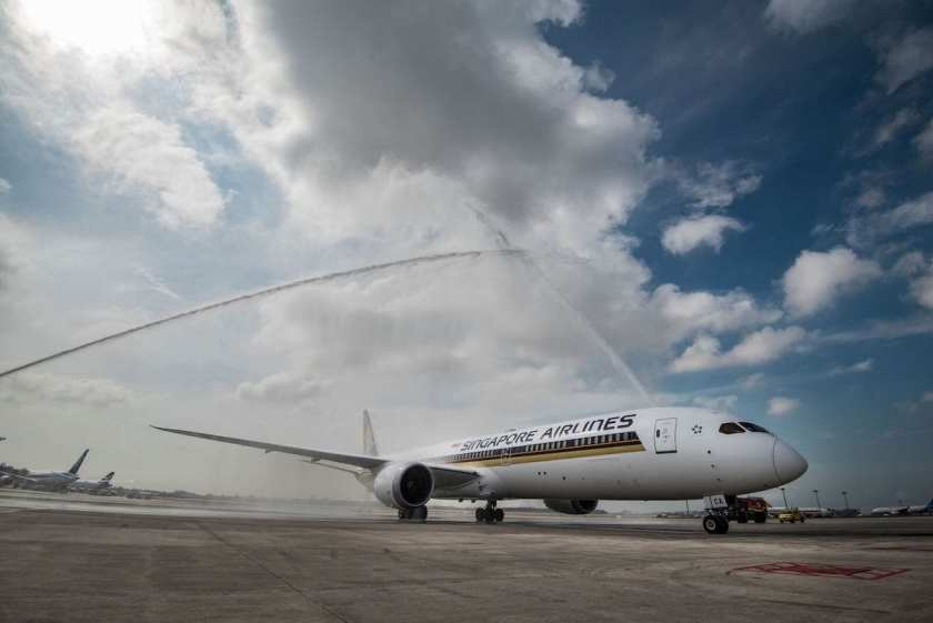 Singapore Airlines Boeing 787-10 Aircraft