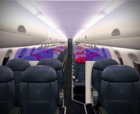 EI-GHK Embraer E190 Business Class