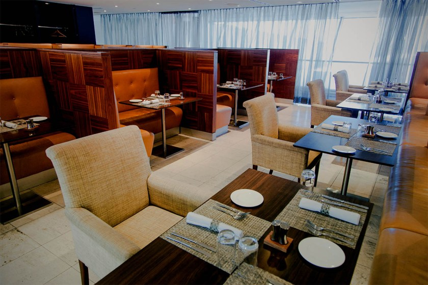 British Airways Concorde Room, New York JFK
