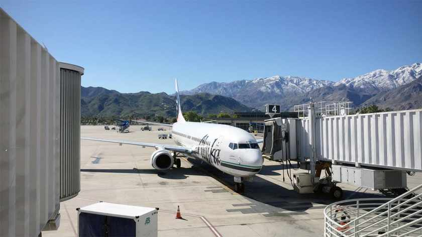 Alaska Airlines, Palm Springs Airport